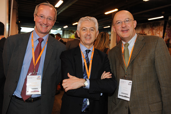 44. Christophe Gindre, Jean-Pierre Levayer (Banque Populaire) et Marc Giroud (Patricola)