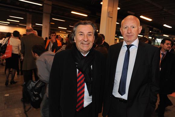 45. Guy Métral (CCI Haute Savoie) et Roland Orbolato