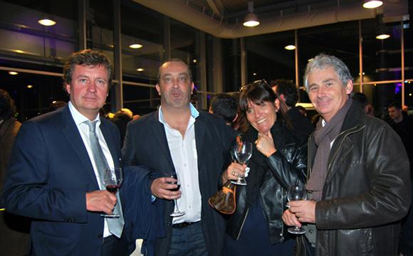 45. Hervé Bal, Pierre Nallet, Pascale et François Baldini (Sofra)