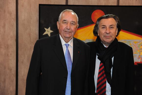 47. Jean-Paul Mauduy, président de la CRCI et Guy Métral (CCI Haute Savoie)
