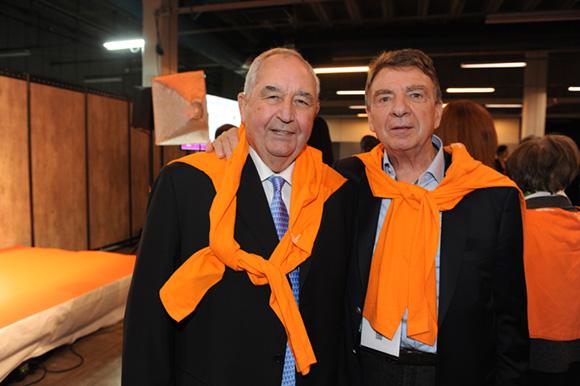 50. Jean-Paul Mauduy, président de la CRCI et Bernard Fontanel, président du Medef Lyon Rhône