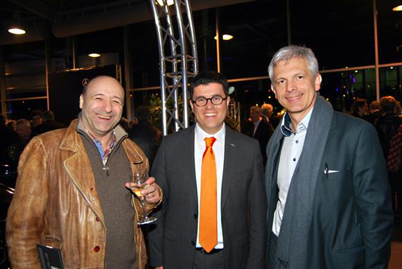 52. Alain Baraige (Concertiste Compositeur), Frédéric Blanc (Directeur commercial, Mercedes-Benz & smart Lyon) et Didier Suc (DG Bérard)