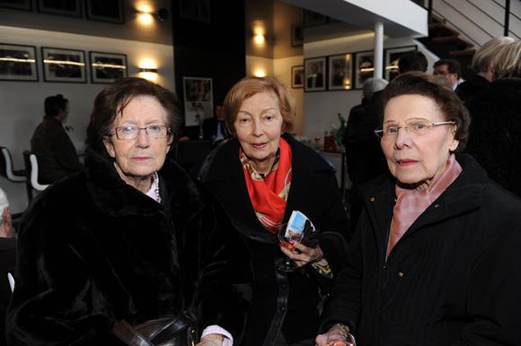 5. Michele Fradin, Marguerite Clinton et Simone Clausier