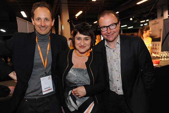 56. Laurent Gesse (Axial), Mirella Launay (L'Essor) et Jacques Chalvin (Double Mixte)