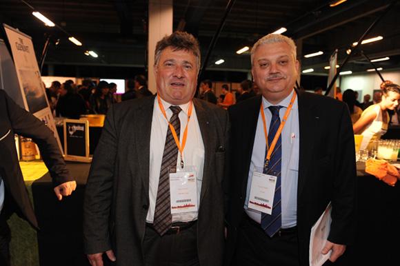 64. Max Vincent, maire de Limonest et Pascal Parent (Amallia)