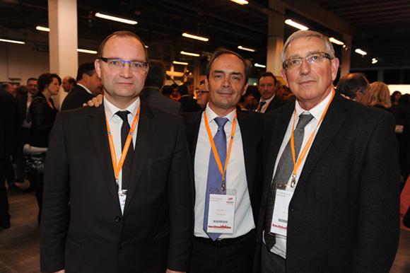 68. Yann Pommet (Linea Construction), Gilles Courteix et Pierre Vion (BTP Rhône)