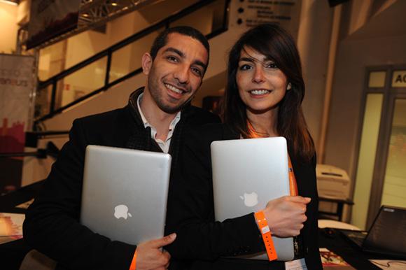 76. Dalil Merad (DComMedia) et Claire Faure (Social Unit)