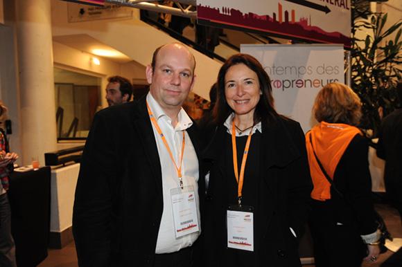 77. Nicolas Vainchtock (L'Ermitage Hotel) et Karine Billoudet (KPMG)