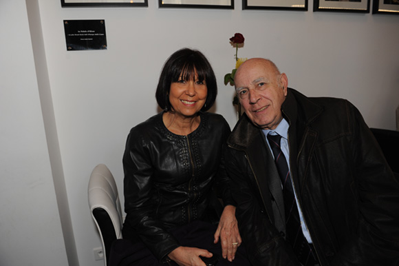 8. Chantal Berard et le docteur Bruno Gignoux