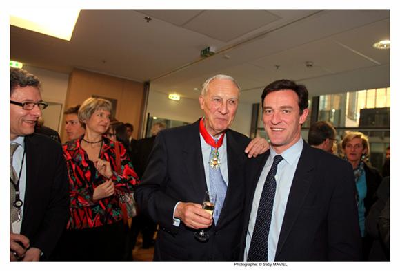 8. Bruno Lacroix et Michel Havard, ancien député du Rhône