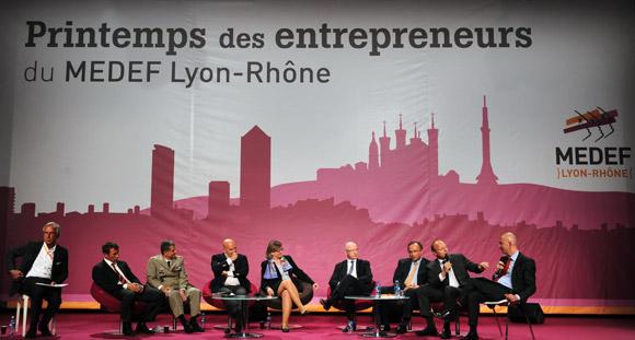 Medef Lyon-Rhône. La ruée vers l'air(e) du Printemps des Entrepreneurs