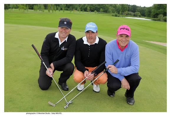 11. Olivier Dulcourt (Call&Golf), Emanuel Pontonnier et Lionel Urrea