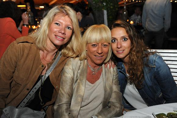 12. Sylvie, Christine et Florine