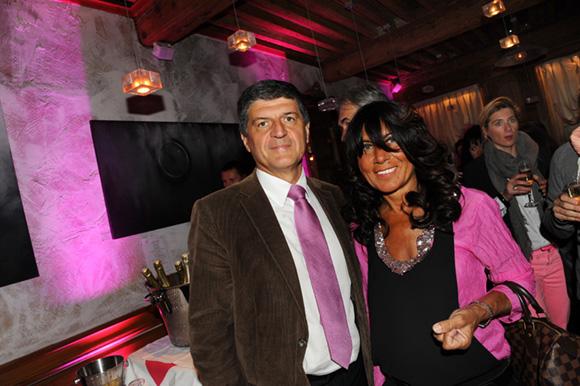 13. Robert Ruzza (Viessmann) et son épouse Marie (Wellness Sport club)