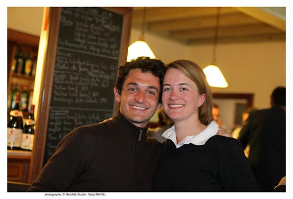 13. Marco Reynaud, pharmacien et Virginie Gros