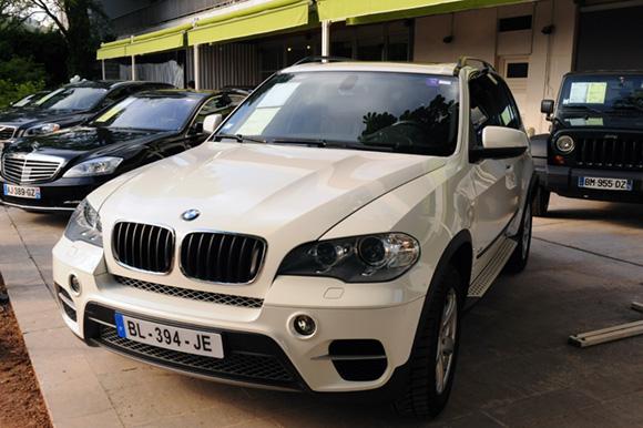 15. BMW X5 drive 3.0, 33 237 kms, 2011, adjugée 36 000 euros