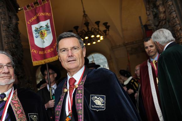 17. Le président des Pennons de Lyon