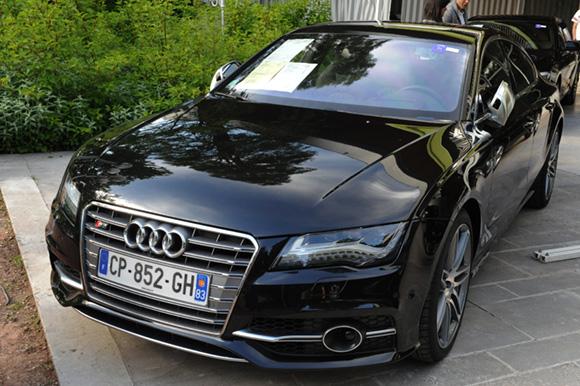 18. Audi S7 V8 Quattro S Tronic Sportback, 5 044 kms, 2012, adjugée 62 000 euros