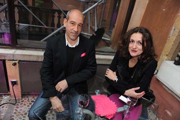 20. Christian Menanteau (CM Consulting) et Nathalie Chanal (Décoration)