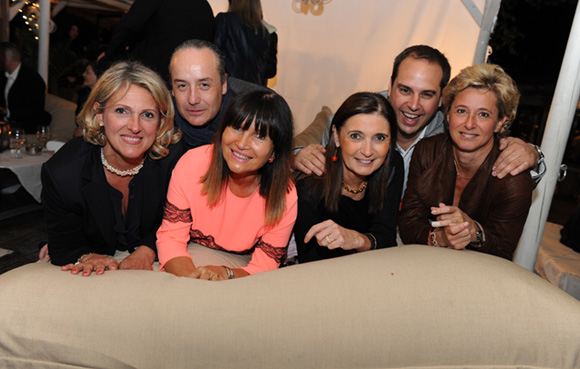 22. Marie-Christine, Richard, Annie, Carole, Stéphane et Isabelle