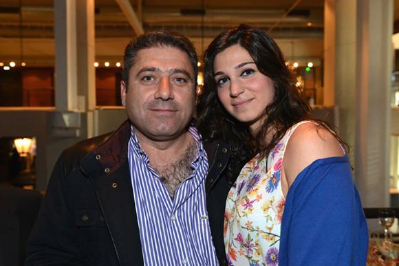 27. Michel Hardan et sa fille Clara