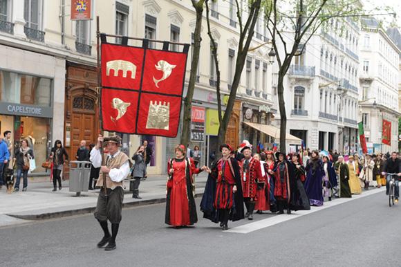 3. Les Pennons de Lyon