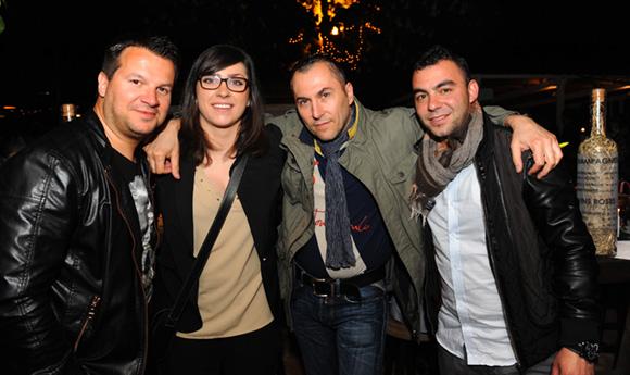33. Damien, Emilie, Fabrice et Umit