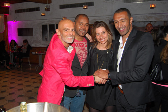 40. Pierre Hollier (Les Garçons), 6Ko, Val (Lyon People) et Omar