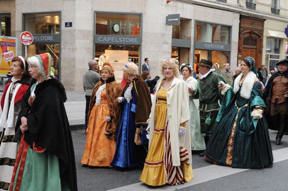 4. Défilé de belle robe