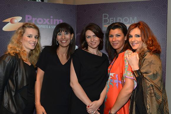 4. Sarah, Rima, Bojena, Delphine et Sophie