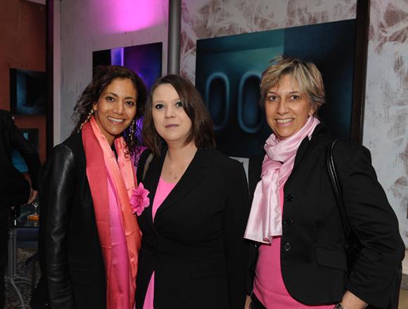 4. Malika Jafri, Eve Maillet (Supplément Dames) et Pascale de la Selle (Amicalement France)