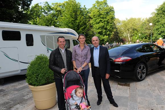 4. Thibaut Gaudin (Brasserie l'Ouest), Camille Cremet, sa fille Victoria Chopin et Maitre Jean-Claude Anaf