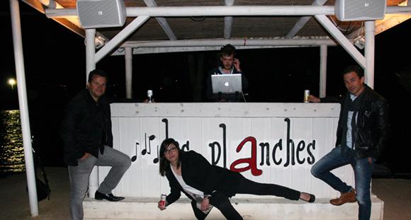 43. L'équipe Schweppes : Damien, Emilie et David