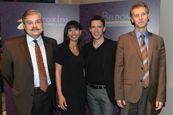 5. Thierry Lignier (Mk Finance), Rima, Joël Chareyron (Faciliance) et Patrick Exbrayat (BP2L)