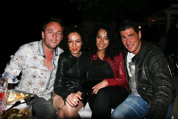 52. Olivier, Sabrin, Linda et Johan