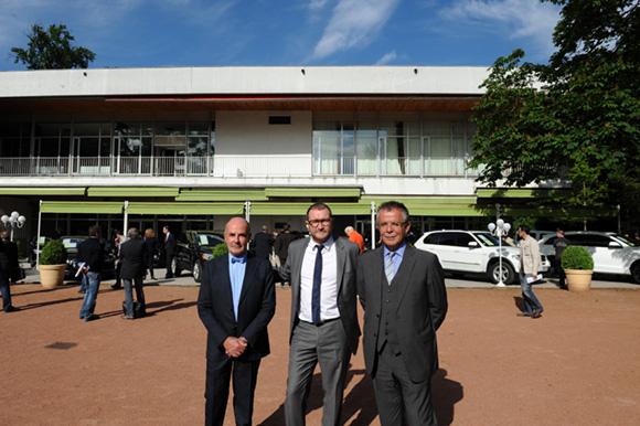 6. Maitre Jean-Claude Anaf, Christophe Cheveu d'Or et Maitre Jean Martinon