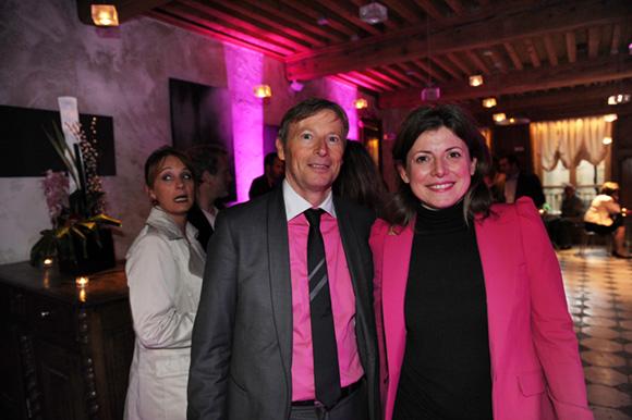 8. Patrice Auguy (Veolia) et Valérie Brunon (Lyon Underground Events)