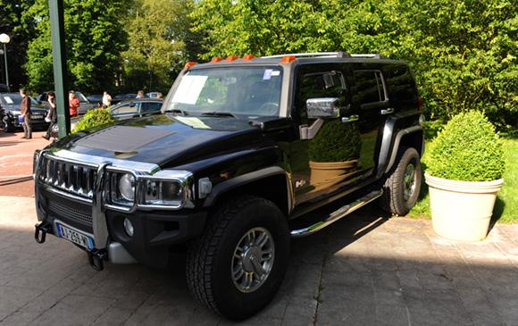 8. Hummer H3 Adventure BVA, 86 390 kms, 2007, adjugé 13 600 euros