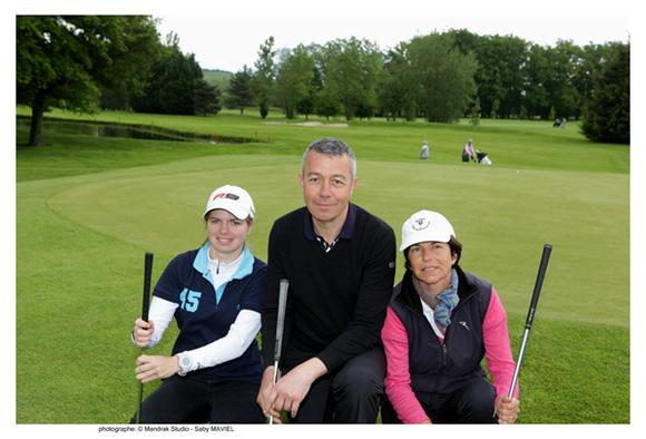 9. Laure Urrea, Hubert Chapelle (Puls) et Valérie Glaizal