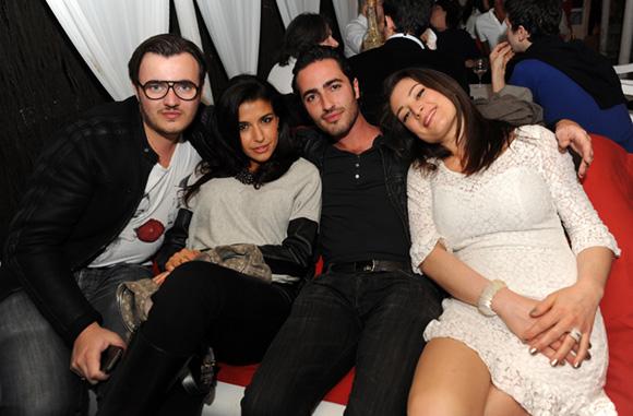 9. Alexandre, Stéphanie, Julien et Stéphanie