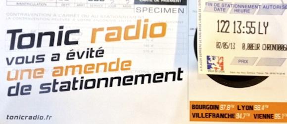 Tonic Radio met les PV à l'amende !