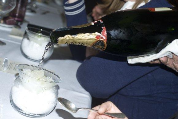 Granité au champagne Mumm Cordon Rouge