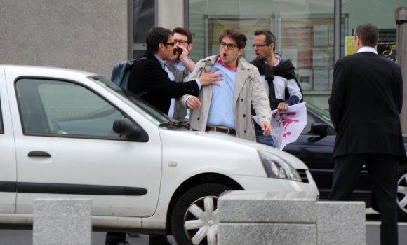 Manuel Valls chahuté à Lyon par des opposants au mariage pour tous