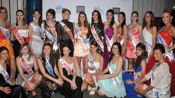 Célie Laporte élue Miss Lyon 2013. Toutes les photos !