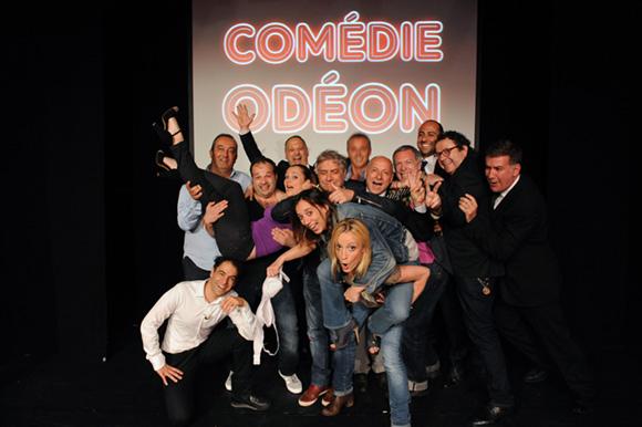 Comédie Odéon. Ça blague à Lyon