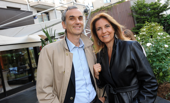 10. Allessendro Dina (ENI France) et son épouse Lorenza