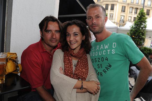 10. Sylvain, Gaëlle et Nicolas