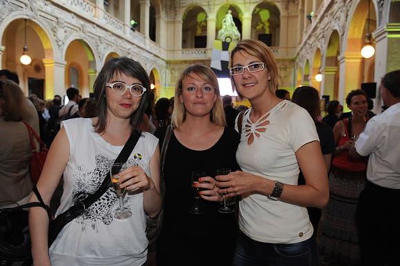 10. Lisa Lejeune (Lisa Lejeune Créations), Céline Gris (Human Architecte) et Emilie Chausy (EC Archidesigner)