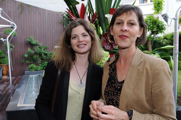 11. Agnès Biot-Charl et Florence Tournier-Lavaux (TNP)