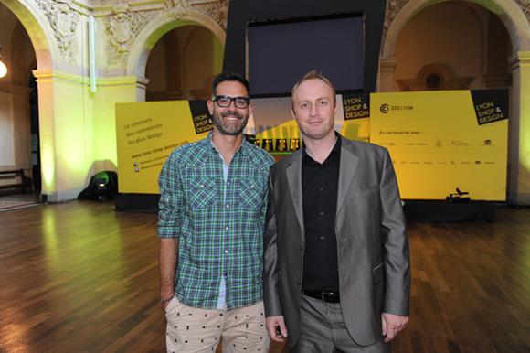 1. Romain B. (WelcoMm) et Cyril Meaudre (Domo Déco)
